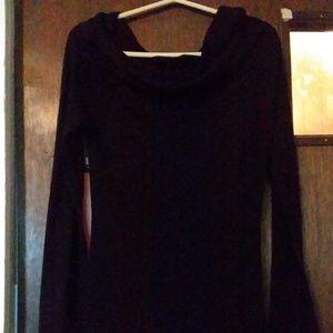 Zenana Outfitters long sleeve black shirt size L